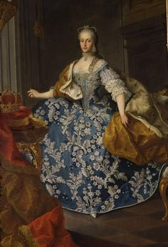 ca. 1765 Maria Josepha of Bavaria, Holy Roman Empress by Martin van Meytens