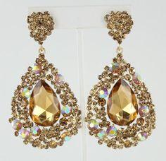 Prom Jewelry Jewelry AB Crystal Jewelry 779CAB 3499