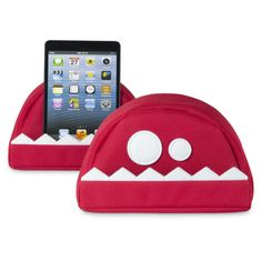 fläzbag® (red) - tablet stand looking like a monster