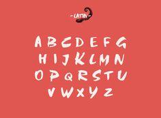 Typographie : Elle est gratuite et elle s'appelle « Abys »
