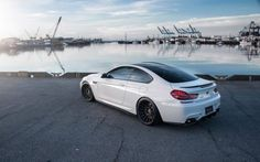 2015 BMW M6 White Concept