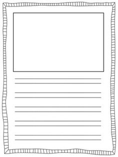 Are you using the Handwriting Without Tears Program? These double-line templates can be used for student writing projects. This file includes 2 different spacing sizes, picture sizes, and no-picture options. Each format is included without a border and with 10 different border options.