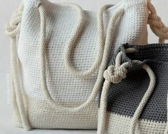 Crochet patrones  Bryce Crochet bolso o la por LakesideLoops