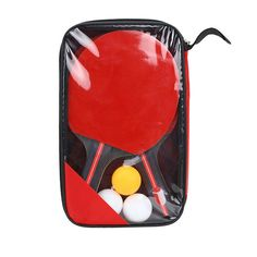 Sports & Entertainment Table Tennis Trustful New Style 1 Pcs Long Handle Shake Hand Table Tennis Racket Ping Pong Paddle Waterdichte Tas Pouch Rode Long Performance Life