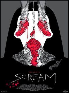 Poster Art List : Scream Alex Pardee
