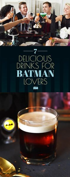 7 Delicious Cocktails To Serve Anyone Who Loves Batman