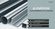 Our aluminum materials exhibit excellent resistance to corrosion which is best for all your high performance applications. Call us at +1 (847) 451-8888 or visit our website: www.fortemetals.com to get your free quote today! Aluminum Products, Free Quotes, Exhibit, Website, Metal, Metals