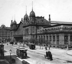 Western Railway Station, Budapest at the time of its opening (28th October 1887)
