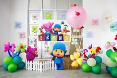 Girly Pocoyo Party