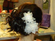 Pretty bride hair !!! (by Alesia at La Mirage !!!