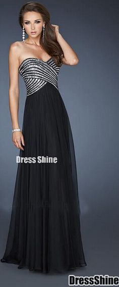 A-Line Sweetheart Floor-Length Chiffon Long Prom Dress 2015 Prom Dresses  2016 3c0732b36a24