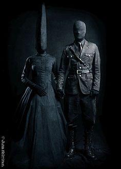 crazy shadow people - creepy
