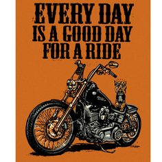 Every day is a good day for a ride. #motorcycle