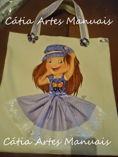 Catia Artes Manuais: BOLSA COM PASSO A PASSO