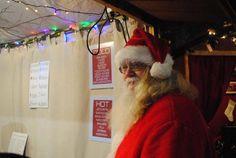 Santa Claus in Christmas Village 2014 - Opening Weekend on Philadelphia Business Journal