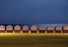 Hove beach huts by Alex Bamford