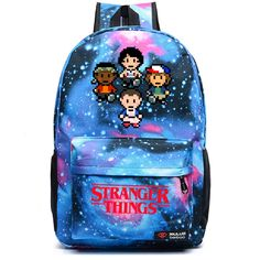 Buy Stranger Things School Backpacks types) at The Merch Point! The huge selection of cool items and merchandise with sales and free shiping worldwide! Stranger Things Pins, Stranger Things Netflix, Backpack Brands, Women's Backpack, Cute Cuts, School Backpacks, School Bags, School School, School Stuff