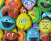 sesame street cookies!