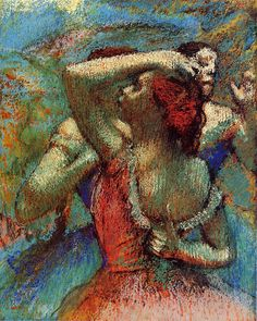 The Athenaeum - Dancers (Edgar Degas - )