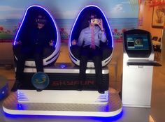 Skyfun Amusement World: Welcome Cici's handsome France customers visit Sky...