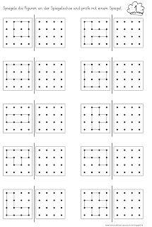 punkte verbinden muster bertragen visuomotorik bungen f r die vorschule integracion. Black Bedroom Furniture Sets. Home Design Ideas