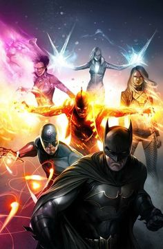 Justice League of America #29 (2018) Variant Cover by Francesco Mattina