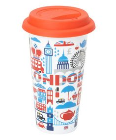 Loving this London Travel Cup on #zulily! #zulilyfinds