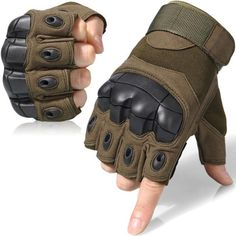Touch Screen Tactical Gloves Military Army Paintball Shooting Airsoft Combat AntiSkid Rubber Hard Knuckle Full Finger Gloves Color Black Gloves Size S Tactical Wear, Tactical Gloves, Tactical Clothing, Mens Gloves, Leather Gloves, Hunting Gloves, Army Gears, Airsoft Gear, Motorcycle Gloves
