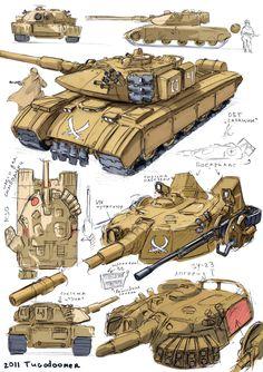 ArtStation - tanks, Vasily Khazykov