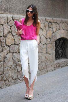 Blusa cor-de-rosa