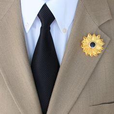 Mens Lapel Pin Mens Lapel Flower Men's Lapel by PetalPerceptions