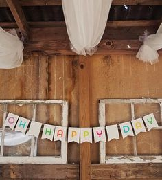 Oh Happy Day Banner by Liddabits on Scoutmob Shoppe