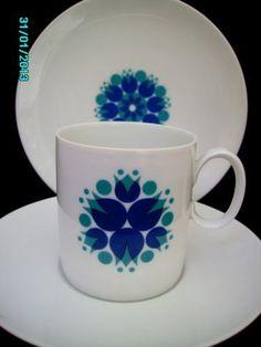 Mug and plate