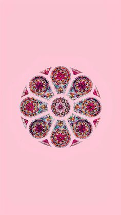 Vitral rosado