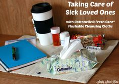 Taking Care of Sick Loved Ones with Cottonelle® Fresh Care* Flushable Cleansing Cloths #CleanRippleStyle #ad