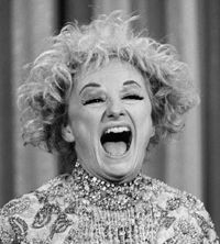 Phyllis Diller was one of the very first female stand-up comics. She was consistently hilarious. Every female comic working today owes her royalty payments.