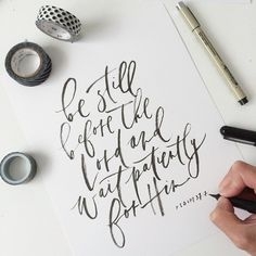 simply-divine-creation: Written Word Calligraphy