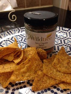 Wildtree copycat Cool Ranch Doritos!  1. Place tortilla chips on wax paper (home made or store bought) 2. Spray with a Wildtree Grapeseed Oil of your choice (Roasted Garlic, Jalapeno, Butter, etc.)  3. Place in bag and shake with Spicy Chipotle Ranch.  You can choose your own chips or make your own. Less sodium, no dyes (based on chip choice) and all of the seasoning ingredients you trust from Wildtree!  www.mywildtree.com/jeanettegribbin