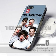 Funny Clown One Direction iPhone 5,5s,5c (Leave a Message)