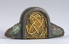8th century | anglo-saxon Windsor sword-pommel, mid 8th century . Ashmolean Museum No. AN1909 ...