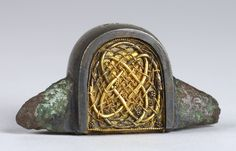 8th century | anglo-saxon Windsor sword-pommel, mid 8th century . Ashmolean Museum No. AN1909 ...