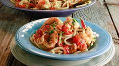 Cherry Tomato Shrimp Fra Diavolo Recipe