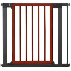 Munchkin Wood and Steel Designer Gate, Dark Wood/Silver >>> Special dog product just for you. See it now! : All pet supplies