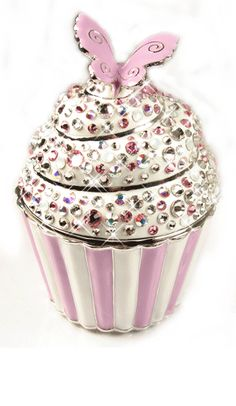 Crystal Covered Cupcake