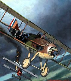 1918 SPAD XIII SPA 94 - Steve Anderson