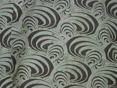 Soft Cotton Fabric in Brownish-grey Dabu by Indianlacesandfabric