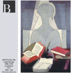Ángel Zárraga: La poétesse