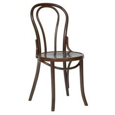 Dining Chair Pair Two X Bentwood French Style Chairs