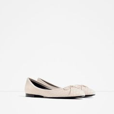 Image 2 of PRINTED BALLERINAS from Zara