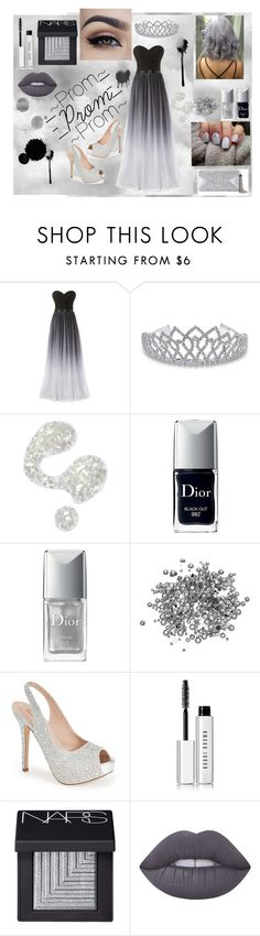 """""""-Ready For Prom 2016-"""" by enjoylyf4evr on Polyvore featuring Bling Jewelry, Illamasqua, Christian Dior, Lauren Lorraine, Bobbi Brown Cosmetics, NARS Cosmetics, Lime Crime, BCBGMAXAZRIA and prom2016"""